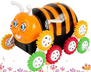 Smart Picks Funny Bee Shape Toys for Kids,12 Wheels,360 Degree Rotate