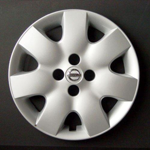 Set von 4 neuen Radkappen für Nissan Micra 2002-2010 / Note/Almera 2000-2006 / Primera 2000-2008 mit Originalfelgen in 15 Zoll