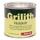ADLER Grilith Holzkitt 200ml Schwarz Spachtelmasse Kitt für Holz Möbel