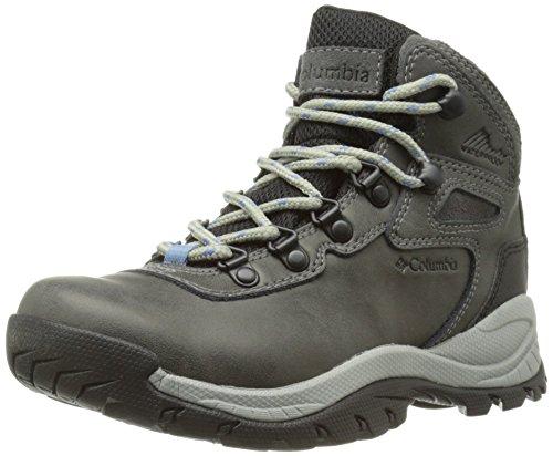 Columbia Women's Newton Ridge Plus Hiking Boot,Quarry/Cool Wave,7 M US