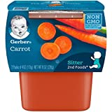 NEW TASTES: Continue your baby's love of fruits & veggies! Gerber 2nd Foods will expose them to a variety of tastes & ingredient combinations to help them accept new flavors. Non-GMO Project verified. REAL FRUIT & VEGGIE: 2nd Foods are made with real...