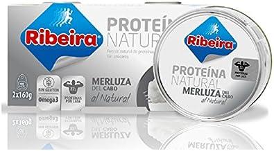 Ribeira - Merluza Natural - 2 x 160g: Amazon.es: Alimentación ...