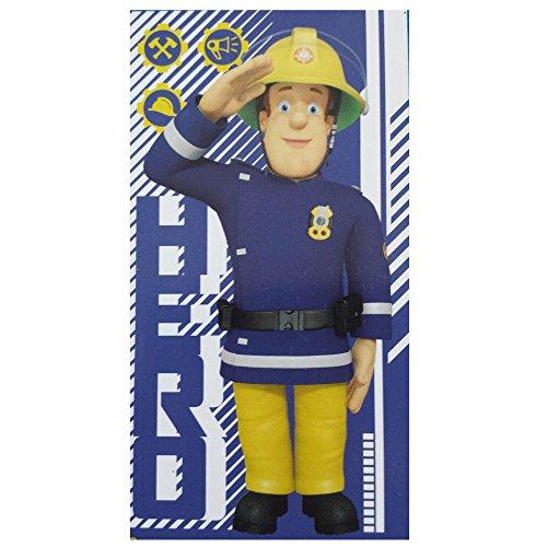Unbekannt Feuerwehrmann Sam Duschtuch Badetuch Strandtuch, 70 x 140 cm