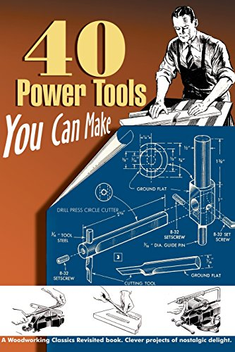 Compare Textbook Prices for 40 Power Tools You Can Make Woodworking Classics Illustrated Edition ISBN 9781933502205 by Wood, Elman,Messinger, P A,Lammey, W C,Burton, Walter E