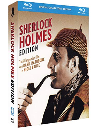 Sherlock Holmes Special Collector`s Edition - 7 Blu-ray Disks (EU-Import mit deutschem Originalton)