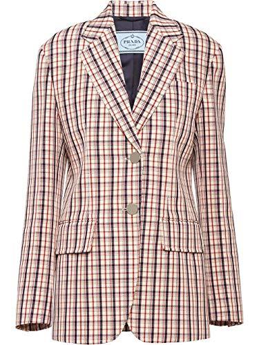 Prada Luxury Fashion Damen P586HS2011VU6F0011 Rosa Wolle Blazer | Frühling Sommer 20