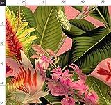 Blumen, Blätter, Blumen, Palme, Dschungel, groß,