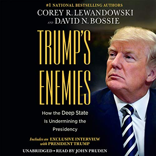 Trump's Enemies audiobook cover art