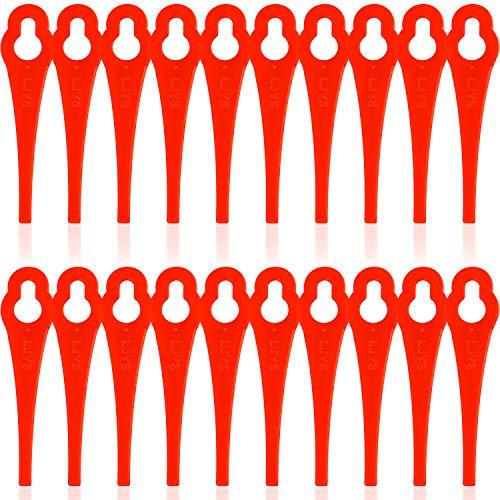 100 Stück Ersatzmesser für Ihren Florabest LIDL,Großes Loch 10mm, Kleines Loch 5mm