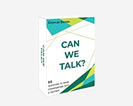 Words Well Said | Can We Talk Cards Couples Edition: 50 Questions to Improve Communication and Increase Bonding in Couples