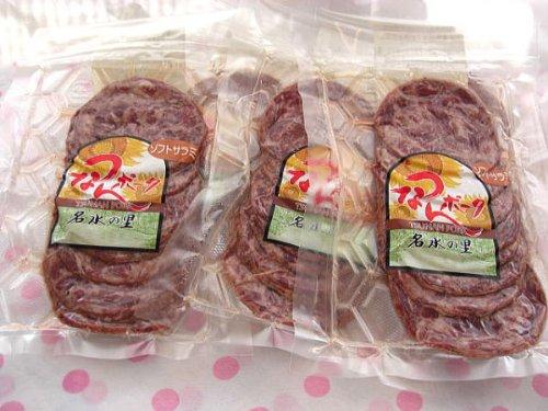津南町 ウイルスフリーポークを手作りソフトサラミ1袋120グラム×6袋 (冷凍にて配送)