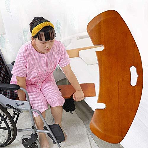 Tabla De Transferencia Tabla Deslizante Curvada para Cama Sin Fricción, Silla De Ruedas Y Traslado En Automóvil Tabla De Transferencia para Ancianos Y Discapacitados,Carga Máxima 130 Kg