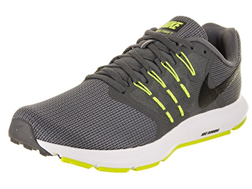 Nike Run Swift Mens Running Trainers 908989 Sneakers Shoes (UK 7 US 8 EU 41, Cool Grey Black Volt White 007)