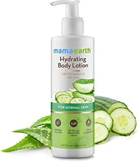 Mamaearth Hydrating Natural Body Lotion for Normal Skin - 250ml