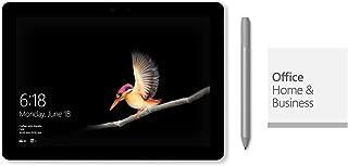 【Microsoft ストア限定】2点セット:Surface Go (Pentium Gold / 128GB / 8GB モデル シルバー) Office Home & Business 2019 - NMW-00001 (2点セット: Surface Go & 専用ペン(プラチナ))