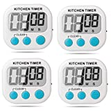 Large LCD screen( 2.56 x 1.34 inch) with big number display for easy read Power on/off swtich for battery saved when not in use ,The palm and lightweight size for easily portable Easy to Use: Maximum time is 99 minutes, 59 seconds useful for cooking,...
