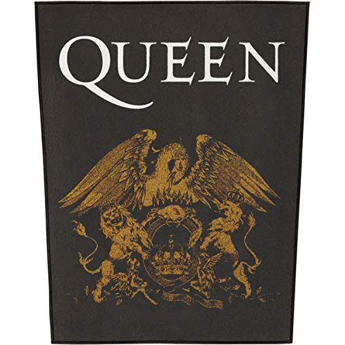 Rock Off Queen - Crest (Toppa Da Schiena) Merchandising Ufficiale