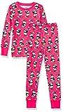 Amazon Essentials Disney Star Wars Marvel Princess Snug-Fit Cotton Pajamas Sleepwear Sets Pajama, 2-Piece 100% Minnie, 9 Anni