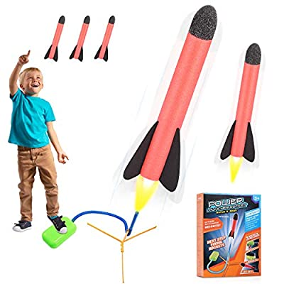 Fricon Foam Rocket Outdoor Toy for Kids - Best Toys by kimy