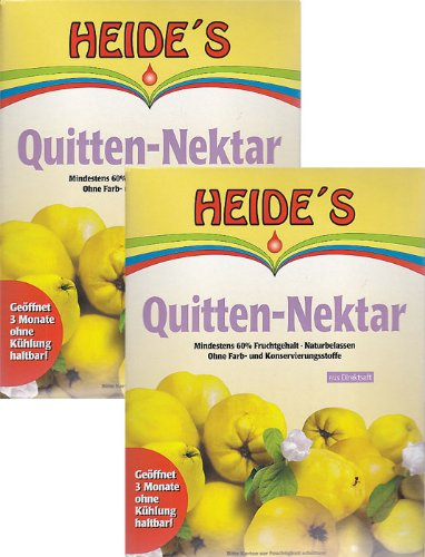 Quitten-Nektar naturbelassen, 2 x 5 Liter