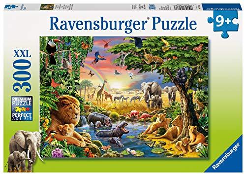 Ravensburger 130733 Puzzel Avondzon Bij De Drinkplaats - Legpuzzel - 300 Stukjes