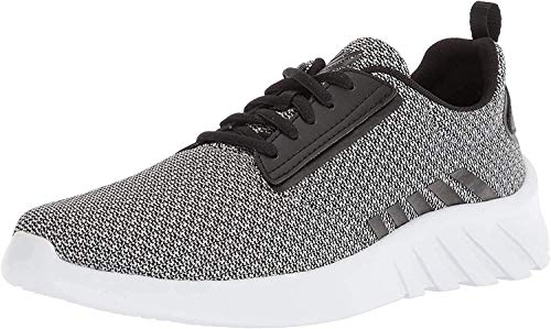 K-Swiss Herren Aeronaut Sneaker, Grau (High-Rise/Black/White), 44 EU
