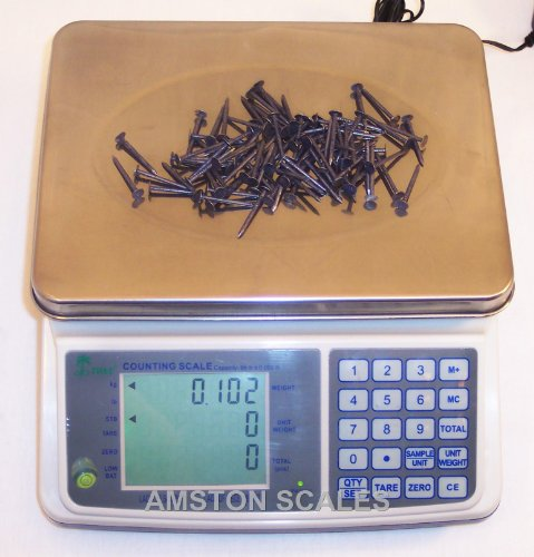 3 LB x 0.0001 LB / 1.5 KG x 0.00005 KG Medium (10 x 7.5 Inch Tray) Counting Scale Coin Parts Inventory Paper Piece w/Full Keyboard Description change to:Mid Counting Scale - Plus Full Keyboard - 3 lb x 0.0001 lb
