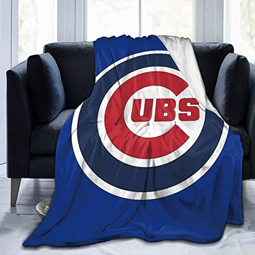 N \ A Super-Soft Cubs-Chicago Throw Blanket Suitable for Sofa Micro Flannel Fleece Blankets for Adults and Children Bed Blankets 50' x40