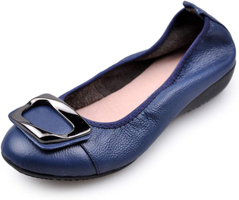 RegbKing Damen Wohnungen Damen Bequeme Schuhe Weiche Slip-On Lssige Stiefelschuhe Arbeitsschuhe