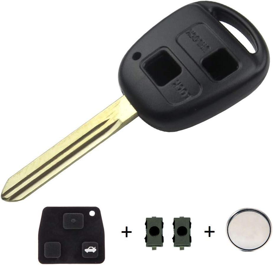 Schlüsselgehäuse Für Autoschlüssel 2 Tasten Elektronik