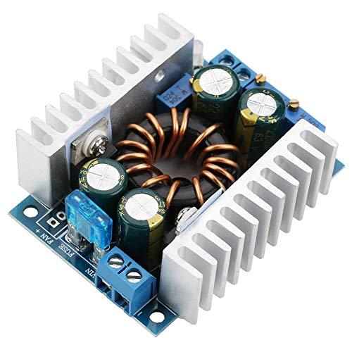 Módulo elevador, módulo convertidor de refuerzo DC10-32V a DC12-60V, convertidor elevador de voltaje para carga de estabilización de voltaje de energía solar, carga de batería, conducción de LED de gr