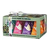 English Tea Shop - Teegeschenk mit Schleife 'Christmas Ornaments', BIO, 12 Pyramiden-Beutel