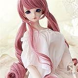 Tita-Doremi BJD Wig Pullip Wig SD DOD DOC DD MSD Pink Wig Hair 8-9'(22-24cm) Doll Wig Toy Head Wig...