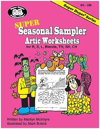 Super Seasonal Sampler Artic Worksheets for R, S, L, CH, TH ...