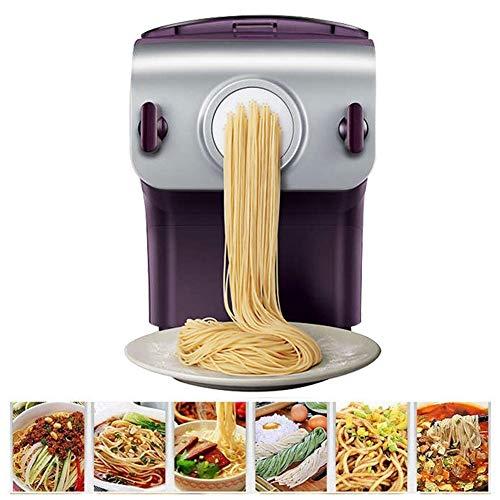 XLST Elektrische Nudelmaschine Multifunktions Vollautomatisch Pasta Maschine 4 Nudelformen Zur Auswahl Knödel Nudelwerkzeuge Zum Machen Sie Spaghetti DIY Gemüsenudeln