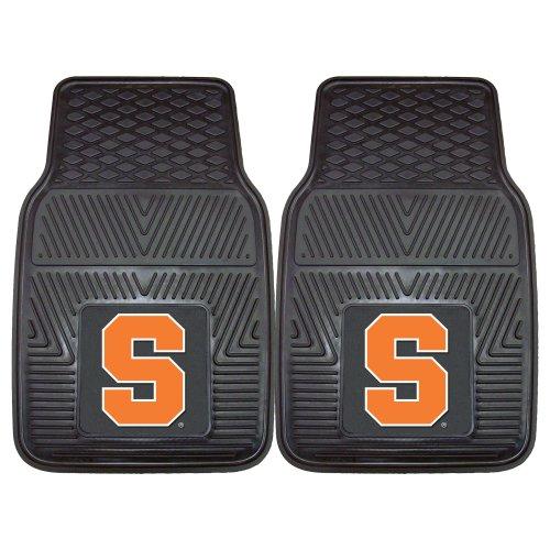 FANMATS NCAA Syracuse University Orange Vinyl Heavy Duty Car Mat