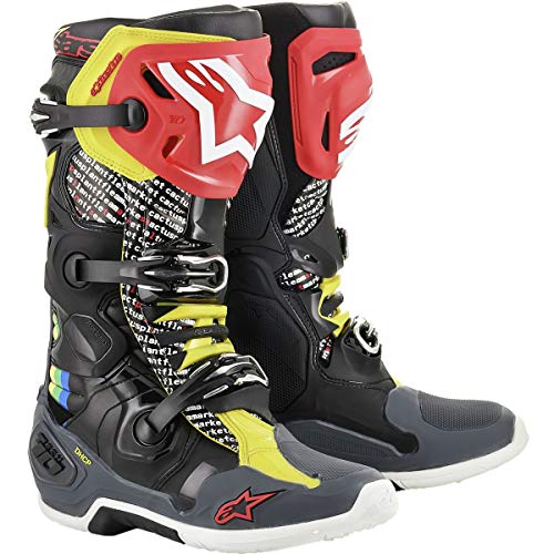 Alpinestars Tech 10 Cactus Limited Edition MX Boots 45.5 EU Multi Coloured