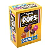 Tootsie Roll Pops Giant Size (72 Count), Variety Pack, 3.82 Pound