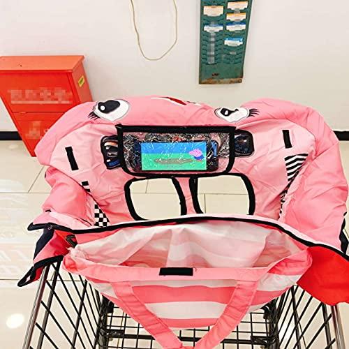 Magent Copertura per carrello della spesa, per passeggino e carrozzina, lavabile, per la sicurezza dei bambini
