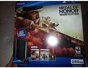 PS3 Slim 250GB Medal of Honor: Warfighter Bundle (PlayStation 3)