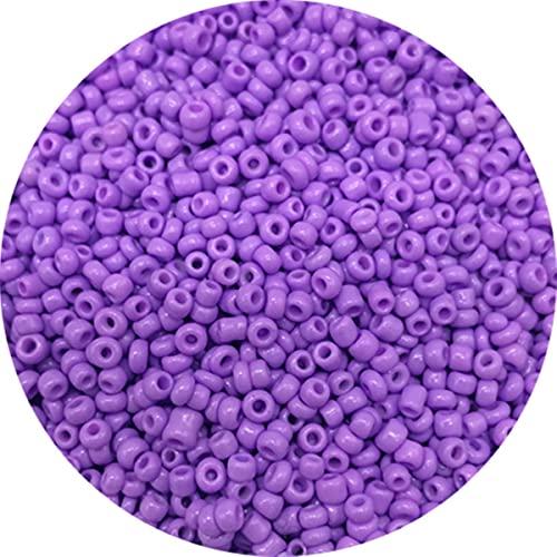 1000 unids / lote 2mm encanto de cuentas de semillas de vidrio checo DIY pulsera collar cuentas espaciadoras para hacer joyería DIY pendiente collar-06