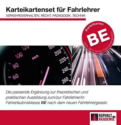 Fahrlehrer Klasse BE - Karteikartenbox Lernkarten | Prüfungsvorbereitung | ASP Akademie | 02/2020: Der optimale Begleiter für ... nach dem neuen Fahrlehrergesetz