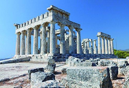 Yeele 6x 4ft Acropolis古代RuinサイトBackdropビニールParthenon Temple大理石ピラーGreece Landmark建物写真背景赤ちゃん大人用旅行肖像画写真ブースShooting Studio小道具
