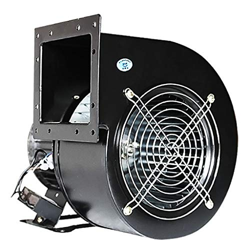 Buy Discount YiYi Blowers Industrial Silent Centrifugal Blower/Commercial Fan,for Ducting Ventilation, Smoke Extraction,220V,85W-500W,Black