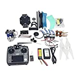 QWinOut S500 Full Kit RC Drone Quadrocopter 4-axle Aircraft Kit 500mm Multi-Rotor Air Frame 6M GPS APM Flight Control 2axis Gimbal DIY Drone