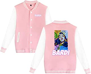 Baseball Uniform Jacket Sport Coat, Cardi Bardi Gang B Cotton Sweater for Women Men Boy