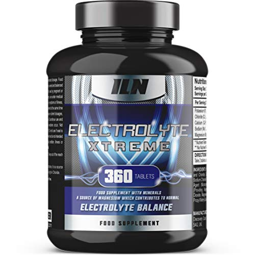 Electrolyte Xtreme - Electrolyte Tablets - 1580mg Electrolytes per Serving - Vegetarian and Vegan Capsules (360 Tablets)