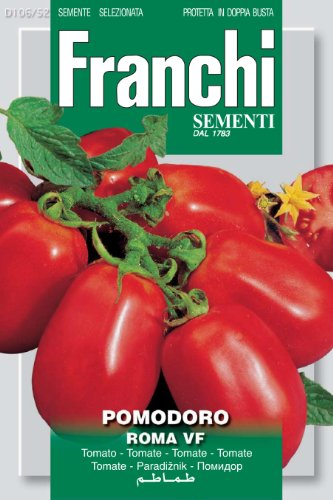 Seeds of Italy Franchi Tomate roma VF