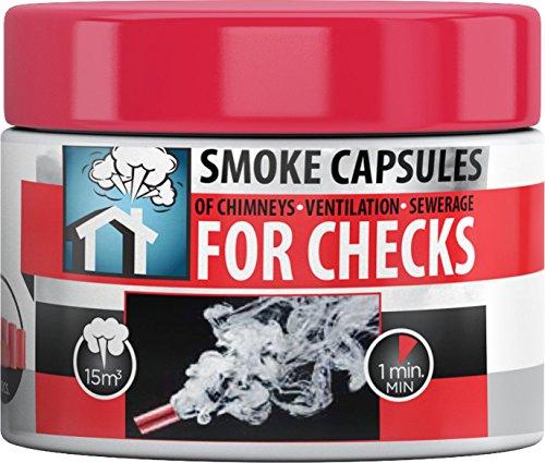 Hansa Smoke Pellets für Kamin/Abwasser/Lüftung Tests 6Stück (15/3)