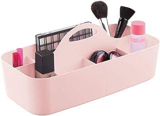mDesign Rangement Salle de Bain avec 11 Compartiments – bac de Rangement déplaçable en Plastique pour Les Produits de beau...